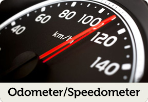 odometer and speedometer