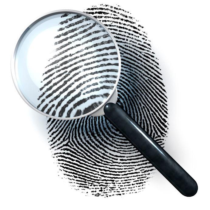magnify fingerprints
